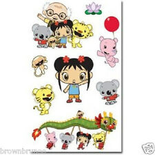 Nickelodeon Ni Hao Kai Lan Foam 8 Stickers