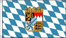 5' x 3' Bavaria Flag Bavarian Crest Beer Fest German Germany Festival Banner