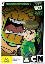 Ben 10 - Alien Force : Complete Season 1 (DVD, 2011, 2-Disc Set) New Region 4