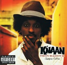 K 'naan-Troubadour-CD NUOVO-does it really matter WAVIN' Flag David Guetta