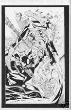 SPIDER-MAN vs. VENOM inked copy by ARIES MENDOZA