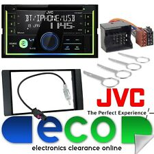 Ford MK2 05-07 JVC Focus Bluetooth CD MP3 USB iPod iPhone Car Stereo & Plancia Kit
