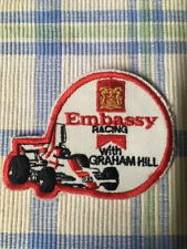 Vintage Embassy Racing with Graham Hill Formula One Cloth Patch