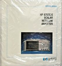 HP 8757C/E Scalar Network Analyzer Service Manual P/N 08757-90072 *NEW*