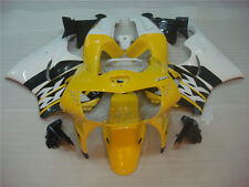 Fit for Honda 1998-1999 CBR919RR CBR900RR Yellow Black Fairing y0A2