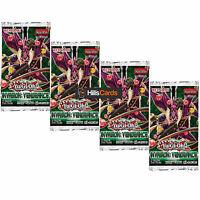YuGiOh Invasion Vengeance 4 Sealed Booster Packs INOV TCG Cards