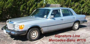 Wheel Arch Moulds to suit Mercedes Benz W116 S-Class 1973-1980 Signature Line