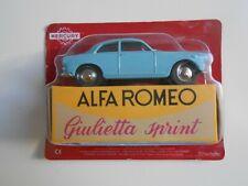Car alfa romeo giulietta sprint mercury Hachette 1/48 1:48 model car