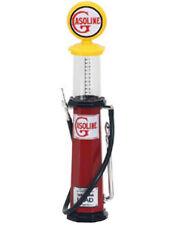 Yat Ming 1:18 diecast model gas pump Gasoline yellow red cylinder