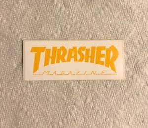 Vintage skateboard sticker Thrasher Magazine neil blender alva sims NOS Mark