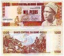 1993 Guine Bissau 1000 Pesos Uncirculated Note