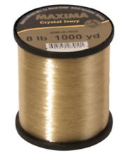 Maxima Crystal Ivory Monofilament Guide Spools - Gold Monofilament Fishing Line