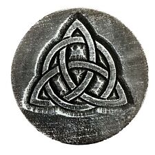 "Gothic casting mold Pagan Wicca Celtic reusable mould 7.75"" x 3/4"" thick"