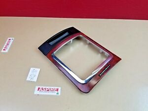 2006-2010 Jeep Commander Floor Shifter Bezel Wood grain Chrome Trim OEM