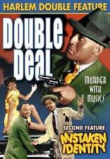 NEW DVD Harlem Double Feature - Double Deal / Mistaken Identity: Hawley G Oliver
