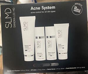 SLMD Skincare Acne System 60 Day Kit. Sandra Lee MD. New In Box, Fast Shipp