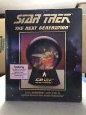 U.S.S Enterprise NCC-1701-D Lighted Musical Star Globe Halodome