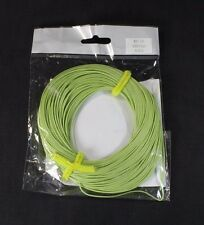 Fly Line 7 wt Wf7F Weight Forward Floating Free 30 lbs Backing Moss Green Loop