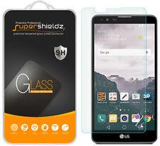 2X Supershieldz Tempered Glass Screen Protector Shield Saver For LG Stylus 2