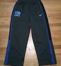 Nike Men's L Duke Blue Devils GT13 Basketball Training Pant Grey Blue 553399