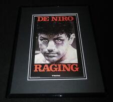 Raging Bull Framed 11x14 Repro Poster Display Robert De Niro