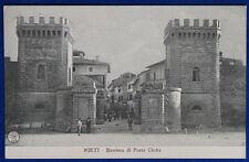 RIETI Barriera di Porta Cintia animata no viaggiata anni 10 f/p #21303