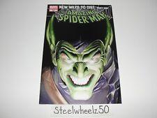 Amazing Spiderman #568 Green Goblin Variant Comic Marvel 2008 Venom Alex Ross