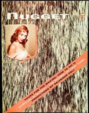 Vintage Adult Entertainment~Nugget Magazine~April 1957~Salvador Dali