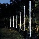 8X Solar Power Acrylic Bubble White LED Light Garden Lawn Landscape Lamp Decor