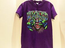 WORLD OF OUTLAWS WICKED WARRIORS (TAKE NO PRISONERS) T-SHIRT (SMALL)2 SIDED-RARE