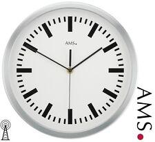 AMS 41 Reloj De Pared Radio oficina estación tren taller Ø 35cm 386