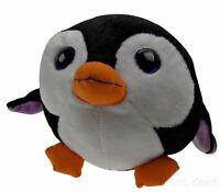 "Sea World Plush Penguin Toy 9"" Stuffed Animal Bubble Zoo Soft Gift Embroidered"