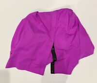 NWT Lululemon Vinyasa Scarf Violet CONV Purple Black Womens Snap Wrap NEW