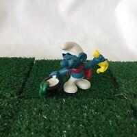 Smurfs Magician Smurf 20114 Vintage 1979 Conjuror Figure Schleich Toy
