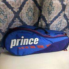Prince Double Tennis Racket Bag Carry Case Bag Colorblock Colorful