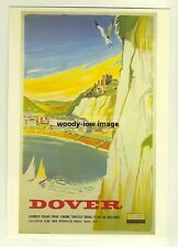 ad2840  -  SR -  Dover by Express Train  -   modern poster advert postcard