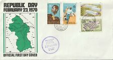 1970 Guyana FDC cover Republic Day