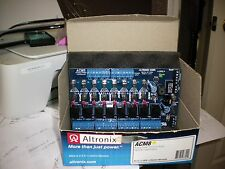 NEW ALTRONIX ACM8 8 FUSED OUTPUTS,ACCESS POWER CONTROLLER 12-24 V AC OR DC