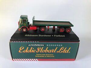 Eddie Stobart Ltd - Atkinson Borderer- Flatbed - Scale 1:76. Atlas Editions