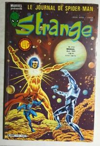 STRANGE #172 French color Marvel Comic (1984) Miller DD Dr Strange Iron Man VG+