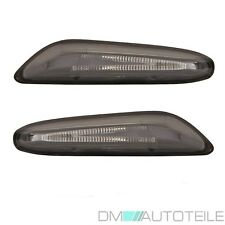 BMW 3er E90 E91 E92 E93 Seitenblinker LED SET Rechts Links Schwarz Smoke Blinker