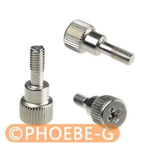 100 pcs M3 x 8mm Toolless Thumb Screws half Screw Thread