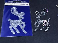 Tattered Lace metal die - Majestic Stag - Deer / woodland / swirls / Christmas