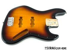 2021 Fender Squier Affinity Jazz BASS BODY & HARDWARE Parts Brown Sunburst
