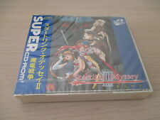 >> STARTLING ODYSSEY II 2 RPG PC ENGINE CD JAPAN IMPORT NEW FACTORY SEALED! <<