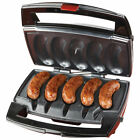 Johnsonville BTG-0498 Sizzling Sausage Indoor Compact Stainless Electric Grill