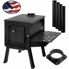 """GRIZZLY"""" Portable Camp/Cook Wood Stove Kit"""