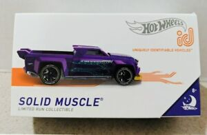 Hot Wheels 2019 ID SOLID MUSCLE NIGHTBURNERZ 02/06 Limited. VHTF. A+Seller.