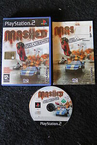 PS2 : MASHED : FULLY LOADED - Completo, ITA ! Domina le strade intasate !