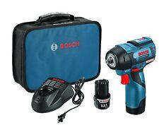 "Bosch 12V Max 3/8"" Impact Wrench Kit, EC Brushless, PS82-02"